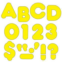 Ready Letters 2 Inch Casual Yellow By Trend Enterprises