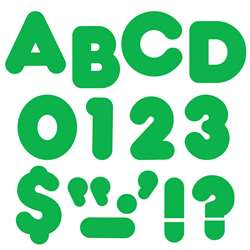 Ready Letters 2 Inch Casual Green By Trend Enterprises
