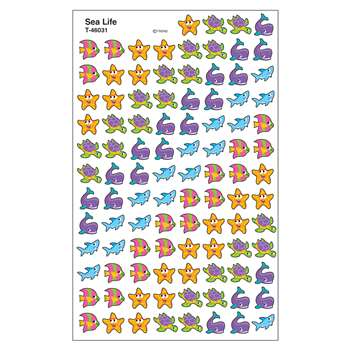 Supershapes Sea Life Stickers By Trend Enterprises