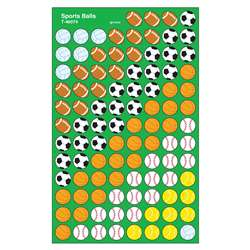 Supershapes Stickers Sports Ball By Trend Enterprises