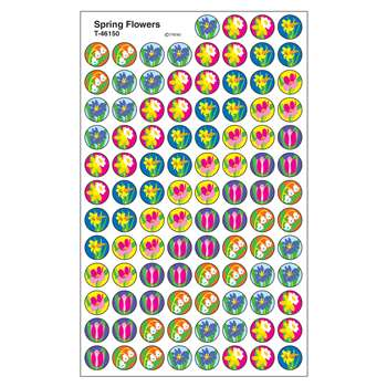 Superspots Stickers Spring Flowers By Trend Enterprises