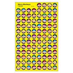 Merry Monkeys Superspots Stickers By Trend Enterprises