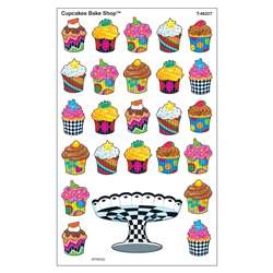 Cupcakes Bake Shop Supershapes Stickers Large By Trend Enterprises