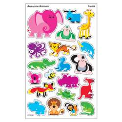 Awesome Animals Supershapes Stickers Large By Trend Enterprises