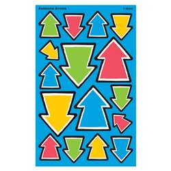 Awesome Arrows Supershape Stickers 128 Count, T-46349