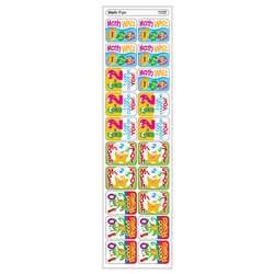 Applause Stickers Math Fun 100/Pk Acid-Free By Trend Enterprises