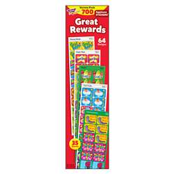 Applause Stickers 700/Pk Great Rewards Acid-Free Jumbo Variety By Trend Enterprises
