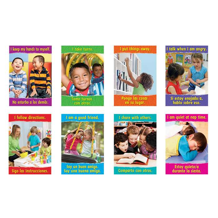Getting Along Look & Learn Posters Pack By Trend Enterprises