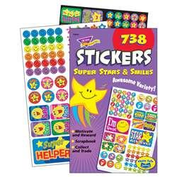 Sparkly Stars Inc 336 ct T-5005 Hearts TREND enterprises /& Smiles Sticker Pad