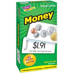 Flash Cards Money 96/Box By Trend Enterprises