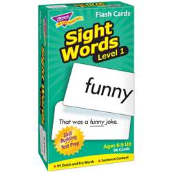 Sight Words - Level 1 By Trend Enterprises