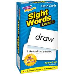 Sight Words - Level 3 By Trend Enterprises