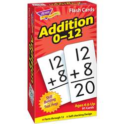 Flash Cards Addition 0-12 91/Box By Trend Enterprises