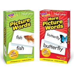 Picture Words Flash Cards Asst Skill Drill, T-53906