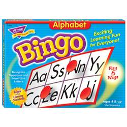Bingo Alphabet Ages 4 & Up By Trend Enterprises