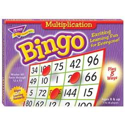 Bingo Multiplication Ages 8 & Up By Trend Enterprises