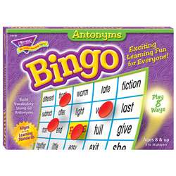 Antonyms Bingo Game By Trend Enterprises