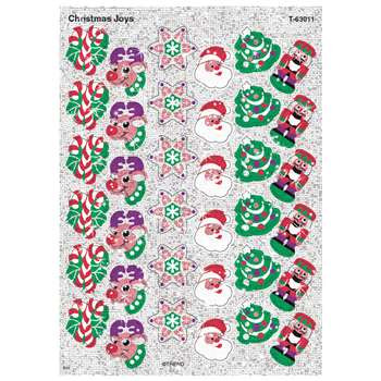 Sparkle Stickers Christmas Joys By Trend Enterprises