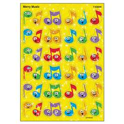 Sparkle Stickers Merry Music By Trend Enterprises