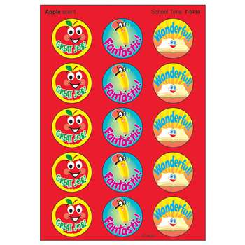 Stinky Stickers School Time By Trend Enterprises