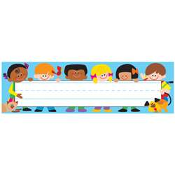 Desk Toppers Trend Kids 36/Pk 2X9 By Trend Enterprises