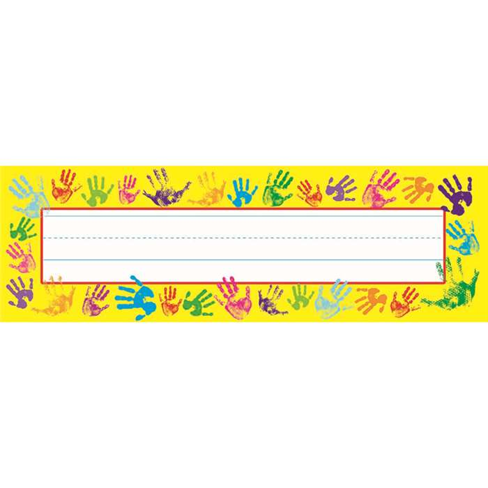 Helping Hands Desk Toppers Name Plates By Trend Enterprises