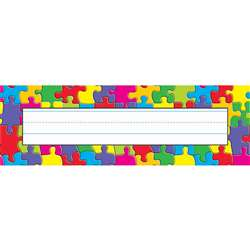 Jigsaw Desk Toppers Name Plates By Trend Enterprises