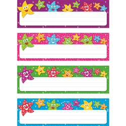 Dancing Stars Desk Toppers Name Plates Variety Pk By Trend Enterprises