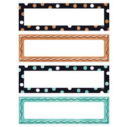 Dots & Embossed Desk Name Plates Variety Pack I He, T-69960
