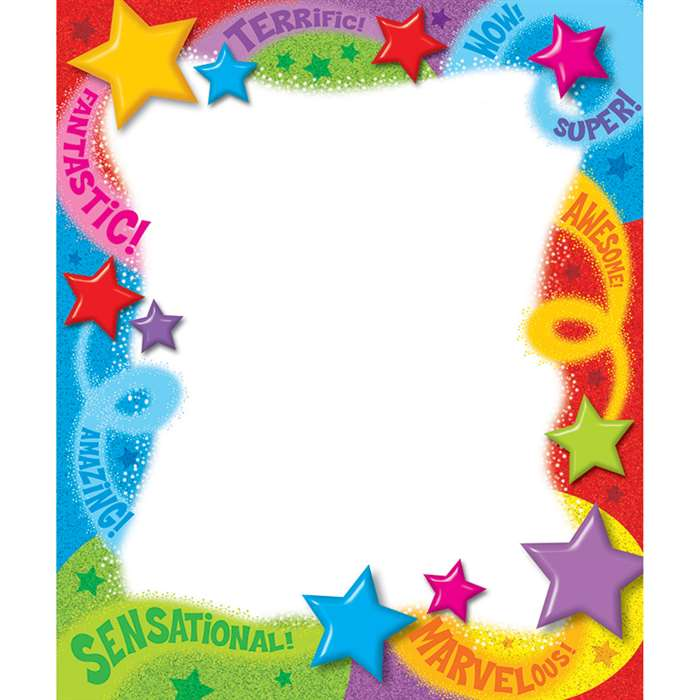 Praise Words N Stars Note Pads By Trend Enterprises