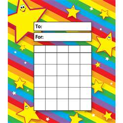 Incentive Pad Stars By Trend Enterprises