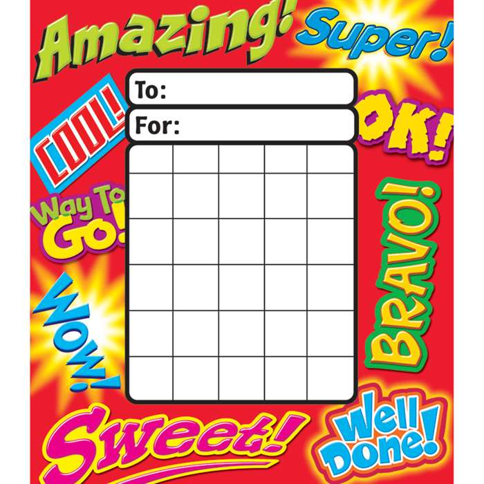 Inspiring Words Incentive Pad By Trend Enterprises