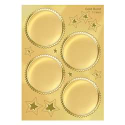 Award Seal Gold Burst 32/Pack By Trend Enterprises