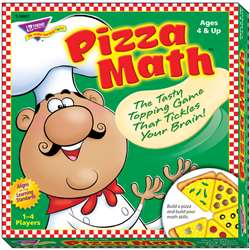 Learning Games Pizza Math By Trend Enterprises