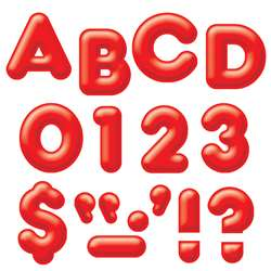 Ready Letters 2Inch 3-D Red By Trend Enterprises