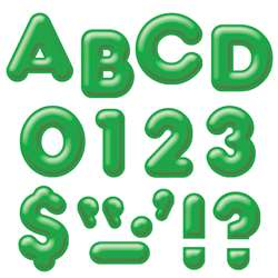 Ready Letters 2Inch 3-D Green By Trend Enterprises