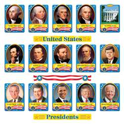 Bb Set U.S. Presidents By Trend Enterprises