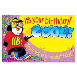 Awards Its Your Birthday Cool 30/Pk 5 X 8 By Trend Enterprises
