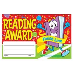 Awards Reading Award Finish Line By Trend Enterprises
