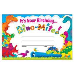 Birthday Dino-Mite Pals Recognition Awards, T-81057