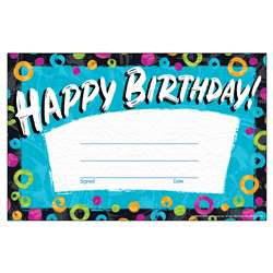 Birthday Recognition Awards Color Harmony, T-81090