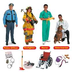Community Helpers Bulletin Board Set 45 Pieces By Trend Enterprises