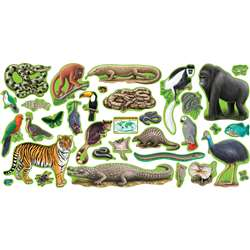 Bb Set Rain Forest Animals 2 Press Sht By Trend Enterprises