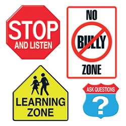 Bb Set Learning Signs By Trend Enterprises