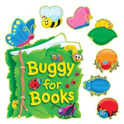 Bb Set Buggy For Books By Trend Enterprises