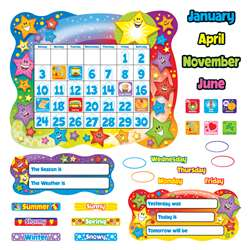 Bb Set Star Calendar By Trend Enterprises