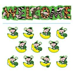 Bb Set Monkey Mischief Welcome By Trend Enterprises