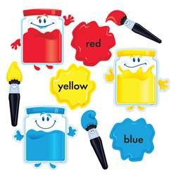 Colortime Paints Bulletin Board Set By Trend Enterprises