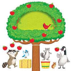 Apple Tree & Animals Bulletin Board Set By Trend Enterprises