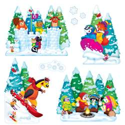 Wonderful Winter Bulletin Board Set, T-8286